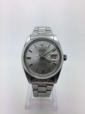 Mens Rolex Oysterdate Precision steel watch