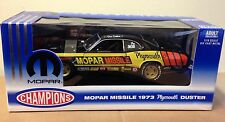 1973 Plymouth Missile Duster 1:18 ERTL Champions Don Carlton Pro Stock new box