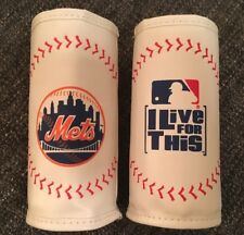 MLB NY METS Baseball Skin Insulated Bottle Koozie Tall Skinny Can Beer Water NEW