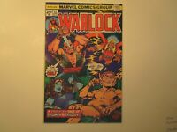 1976 WARLOCK # 12 , IN VERY FINE + CONDITION WITH PIP THE TROLL