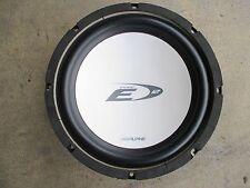 Lautsprecher ALPINE E Type 12 SWE-1241 200 600 Watt Bass Subwoofer