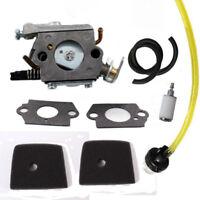 Carburetor Air Filter Kit for Husqvarna 123C 223C 223L 323C 323L 325C 326C 327C