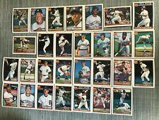 1991 DETROIT TIGERS Topps COMPLETE Baseball Team set 29 Cards TRAMMELL WHITAKER!