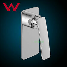 Watermark Bath Spout Shower Mixer Tap Square Vanity Wall Faucet Brass Chrome