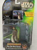 Star Wars Power of the Force Ben (Obi-Wan) Kenobi Electronic Power F/X