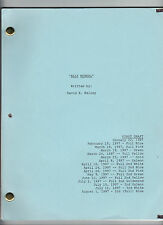 "ALLY McBEAL show script ""Pilot"""