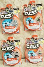 TECH DECK DUDES LOT OF 4 SERIES 1: 2-PACK KICK-FLIP VERY RARE NEW AND SEALED