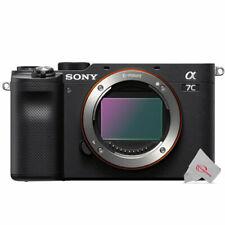 Sony Alpha a7C 24.2MP Full-Frame Digital Camera Body Black