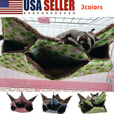 Small Animal Hammock Hamster Ferret Rabbit Parrot Ferret Hanging Mattress