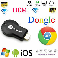 Any cast WiFi Display Dongle Wireless Receiver Airplay 1080P HD TV HDMI DLNA AU