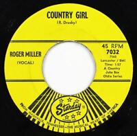 Roger Miller, Jimmy Brown The Newsboy - Country Girl, Starday Records 7032