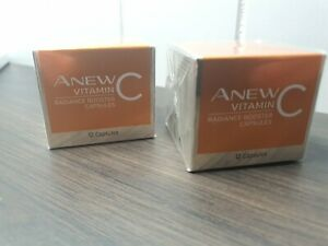 AVON Anew Vitamin C Radiance Booster Capsules. Original,Brand New,Boxed & Sealed