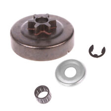 Chainsaw Clutch Drum Sprocket 3/8 6T Washer E-Clip Kit For STIHL MS170 180 Parts