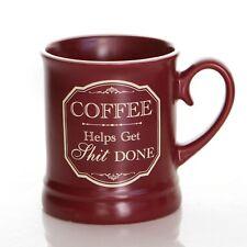 Fantaisie OFFENSIVE style victorien tasse café aide IT fait 284ml bureau travail