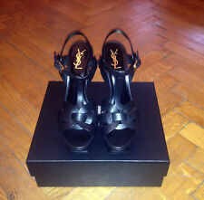 YVES SAINT LAURENT TRIBUTE 105 PLATFORM SANDAL - NEW IN BOX!