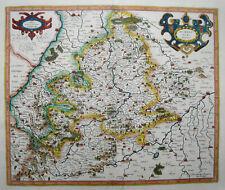 Württemberg Pforzheim Stuttgart Sindelfingen Landkarte Kupferstich Mercator 1623
