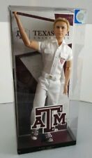 New Barbie Ken Doll Texas A & M  2012 Pink Label Barbie Collector Articulated