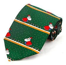 Santa Gardening Mens Necktie Christmas Neck Tie Holiday Funny Xmas Gift New