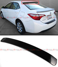 JDM SPORT STYLE REAR ROOF WINDOW SPOILER VISOR WING FOR 2014-2017 TOYOTA COROLLA