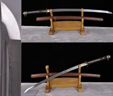 High Quality Japan Military Ful Tang Saber Samurai Sword Pattern Steel Sharp