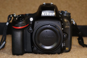 Nikon D610 24.3 MP Digital SLR Camera Body Only