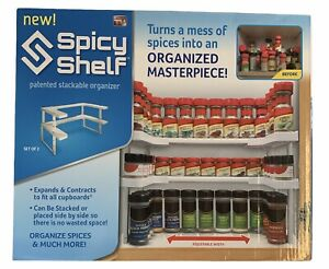 Spicy Shelf Patented Stackable Organizer As Seen On TV Stackable Organizer