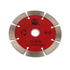4.5'' Inch Diamond Saw Blade U Tooth Dry For Cutting StoneDiamond Wheel Disc