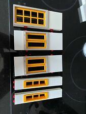 Playmobil - großes weißes Einfamilienhaus 4279 - 5 Wandteile mit Tür und Fenster