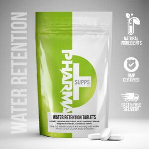WATER RETENTION Tablets, Anti Inflammatory, Diuretic Pills, Detox Dandelion Root