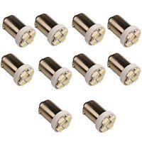 10 x T11 BA9S 4 LED 3528 SMD Auto Ampoule H5W Voiture Lampe Blanc 5000K DC D2B6