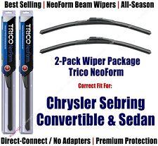 2pk Super-Premium NeoForm Wipers fit 2001-2005 Chrysler Sebring - 16220x2