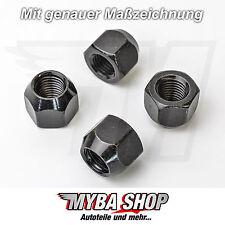 4x Radmutter M12x1,5 x 16 mm Kegelbund Mutter für Radschrauben Ford, Volvo, Opel