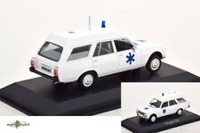 Peugeot 504 Break Ambulance White 1:43 Norev 475442 Diecast