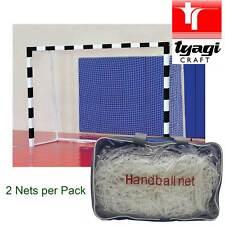 Handball Net Pair Handballnet Full Size Adult Game Goal Netting Club