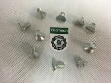 Bearmach Land Rover Series 2 & 3 Brake Drum Retaining Screws x10 - (BR0040)