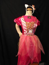 Superbe robe rose  HELLO KITTY avec serre-tête - 7/9 ans -  NEUVE