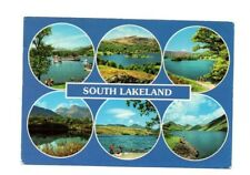 Cumbria - South Lakeland - Multiview Postcard Franked 1985