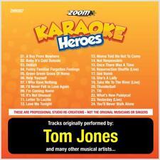 Tom Jones Karaoke CDG Disc - Zoom Karaoke Heroes Vol 7, 24 Tracks, CD+G, ZHR007
