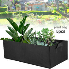 5Pcs Reusable 3 Sizes Grow Bag Planter Vegetable Tomato Potato Garden Plant Pot