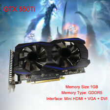 192bit Gaming PCI-E Video Card Computer For EVGA NVIDIA GeForce GTX 550 Ti GDDR5