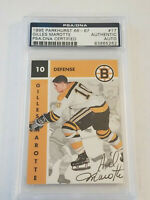 1995 Parkhurst Gilles Marotte PSA/DNA Certified '66-67 Autograph Card #17 BOSTON