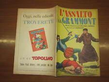 WALT DISNEY ALBO D'ORO N°175 L'ASSALTO DI GRAMMONT 24-9-1949