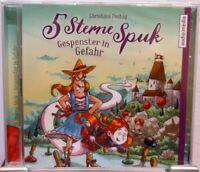 5 Sterne Spuk + Gespenster in Gefahr + 2 CDs + Hörbuch für Kinder ab 8 Jahren