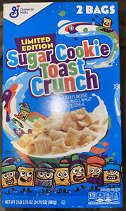 Sugar Cookie Toast Crunch (34.75 oz.) FAST SHIPPING NEW EXP SEPTEMBER 2021
