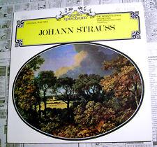 JOHANN STRAUSS WALTZES Audio Spectrum LP • Hans Walther