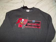 NEW Large Tampa Bay Buccaneers sweatshirt NFL football pirate ship Florida Jolly