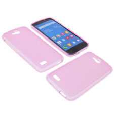 Custodia Per Huawei Honor Holly Cellulare Cover Protettiva TPU IN Gomma Rosa