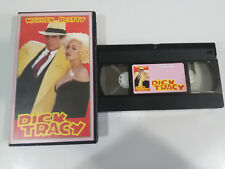PELICULA CINTA VIDEO VHS GRABADA DE LA TV - DICK TRACY MADONNA WARREN BEATTY