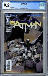 Batman #1 CGC 9.8 (Nov, 2011) New 52.  Scott Snyder Night of the Owls 1st Print.
