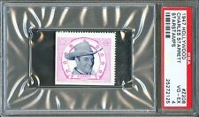 1947 Hollywood Star Stamps #Z208 CHARLES STARRETT Durango Kid Actor PSA 4
